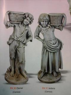 Daniel e Isidora 110 cm.