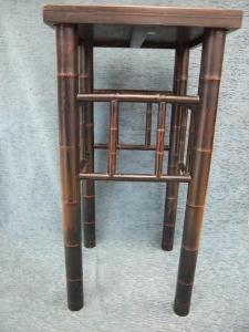 Taburete bambú madera