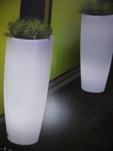 Maceta Bambú 40 light