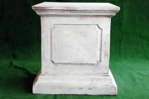 Pedestal rectangular grande 70 cm.