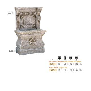 Fuente pared Árabe con retablo
