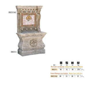 Fuente pared Árabe frontal retablo azulejos