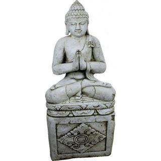 Buda grande con pedestal