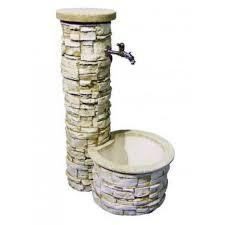Fuente pilón lajas con grifo