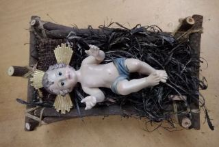 Niño Jesús en cuna